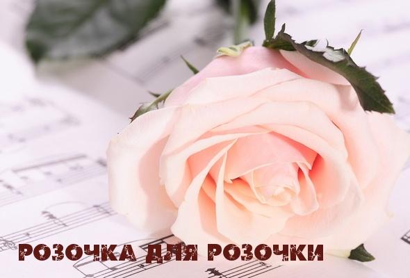 Фотография с именем роза